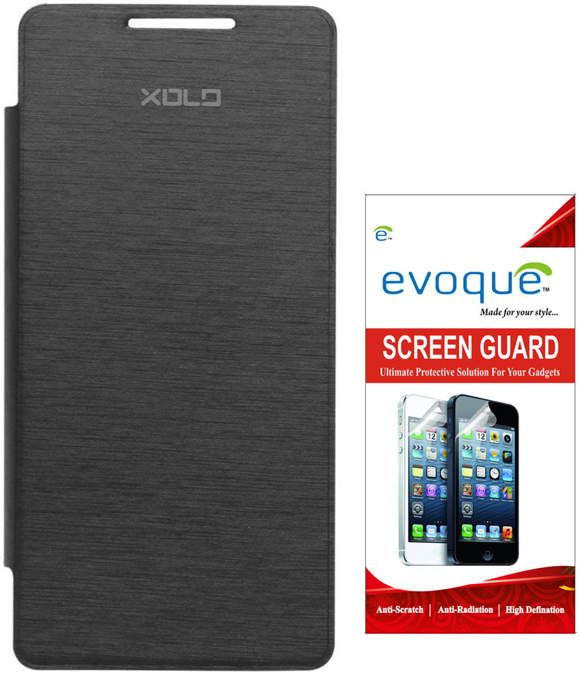 Evoque Flip Cover for XOLO A500S Lite