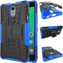Chevron Shock Proof Case For Lenovo Vibe P1m (Royal Blue)