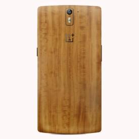 Skinnova Full OPO Teak Wood Oneplus One Mobile Skin