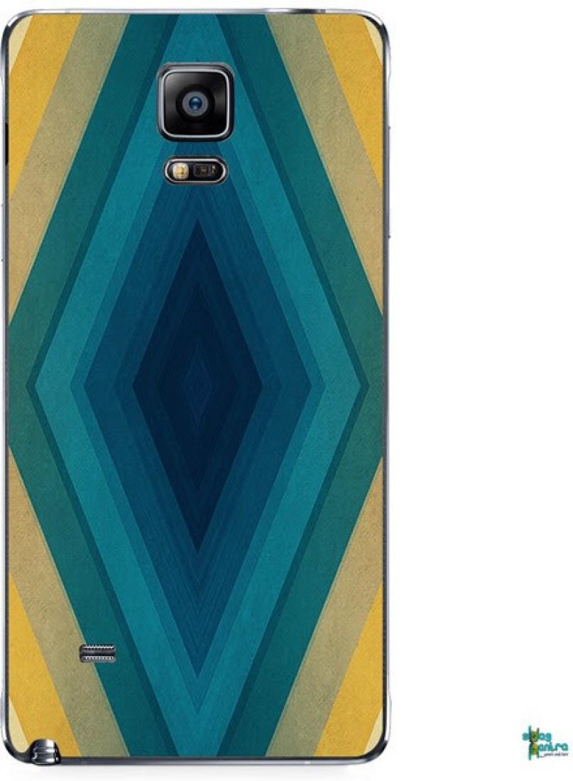 Swagmantra Swagmantra Multicolor square mobile skin for Samsung Galaxy Note 4 Samsung Galaxy Note 4
