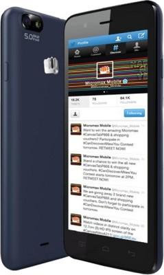Micromax Bolt D321 (Blue, 4 GB)