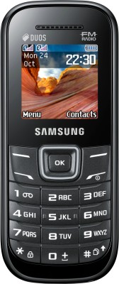Samsung Guru E1207T Black available at Flipkart for Rs.1449