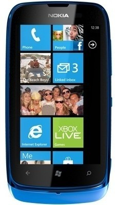 Nokia Lumia 610 (Cyan, 8 GB)
