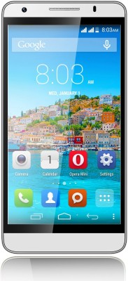 Intex Aqua Star II HD (Silver, 8 GB)