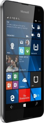 Microsoft Lumia 650 (Black Dark Silver, 16 GB)