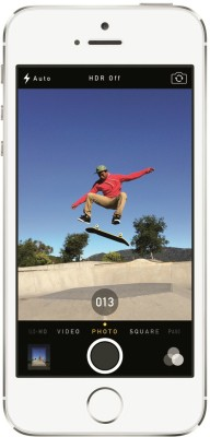 Apple iPhone 5S ( Silver 16GB ) From Flipkart at Rs 2159 - EMI Offer