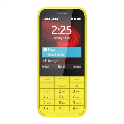 Nokia 225 (Bright Yellow)