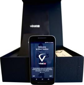 Virat FanBox Moto G Turbo Virat Kohli (16 GB)