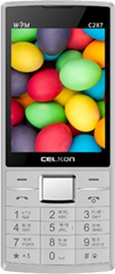 Celkon C287 (White and Red)