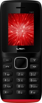 Lava Arc Magic+ (Black & Red)