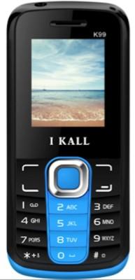 I KALL K-99 Dual SIM Multimedia Mobile (Blue & Black)