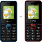 I KALL 1.8 inch Dual Sim Multimedia set of two Mobile with bluetooth