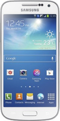 Samsung Galaxy S4 Mini I9192 White Frost available at Flipkart for Rs.16695