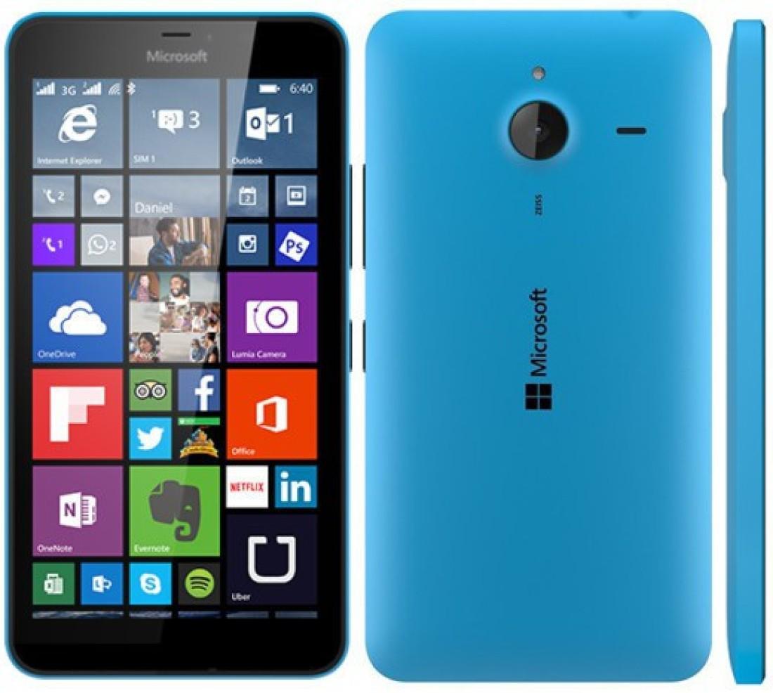 microsoft lumia 640 cl cyan  blue  8 gb  8 blue