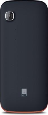 iBall Supremo Big 2.4D Dual Sim (Black, Brown)