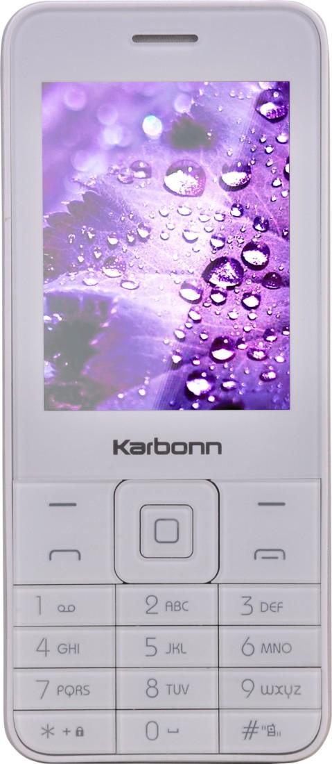 Karbonn K-Phone 1 (White Silver)