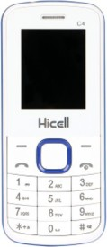 Hicell C4 Dual Sim Mobile Phone With Camera Torch Fm & Manufacturer Warranty (Black)
