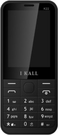 I KALL Dual Sim 2.4 Inch Feature Phone With Bluetooth- Black (Black)