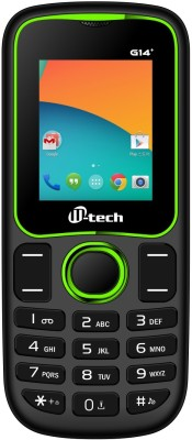 Mtech G14 Plus Black+Green (Black+Green)