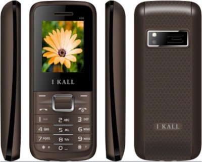 I KALL K-88 Set of 2 Dual SIM Mobiles (Grey)