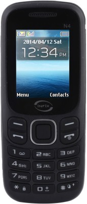 Infix N-4 Dual Sim Multimedia with Facebook (Black)
