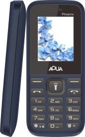 Aqua Phoenix - Dual SIM Basic Mobile Phone (Blue)
