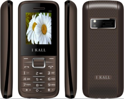 I KALL K 88 Dual sim multimedia phone with bluetooth brown