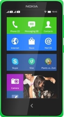 Nokia XPlus (Bright Green, 4 GB)