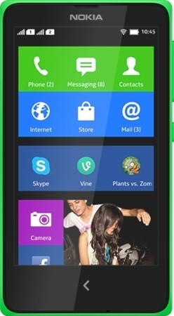 Nokia X Bright Green