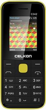 Celkon Dual Sim Black & Yellow