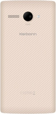 Karbonn Titanium High 2 S203 Dual Sim - White and Gold (White, 8 GB)