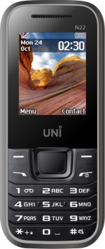 UNI 1.8 inch Dual Sim 2400mah Battery Multimedia Mobile N22