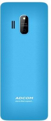 Adcom X17 (TRENDY) Dual Sim Mobile-Black & Blue (Black, Blue)