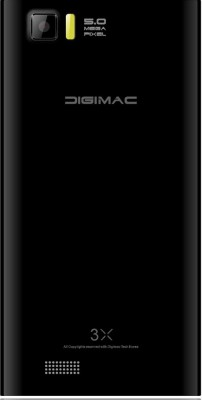Digimac 3x Black (Black, 4 GB)