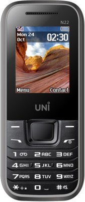 UNI N22 multimedia mobile (Black) (Black)