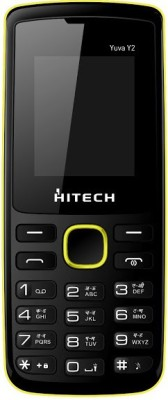 Hitech Yuva Y2 (Black_Yellow)