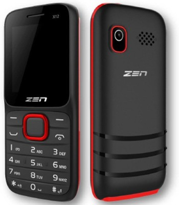 Zen X12i (Black, Red)