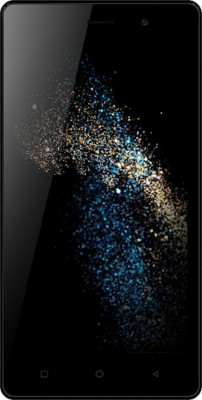 Karbonn S205-2GB (Black/Blue, 16 GB)