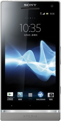 Sony Xperia SL Silver, 32   GB available at Flipkart for Rs.23291