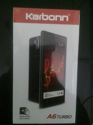 Karbonn A6 Turbo (Black, 4 GB)