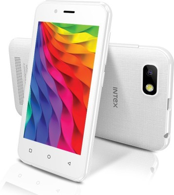 Intex Aqua Play (White / Black / Blue, 8 GB)