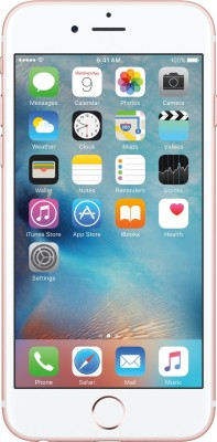 Apple iPhone 6S (Rose Gold, 64 GB)