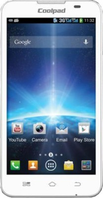 Spice Coolpad 2 Mi 496 White available at Flipkart for Rs.7999