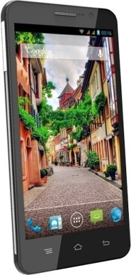 Videocon A55 HD (Black & Silver, 4 GB)