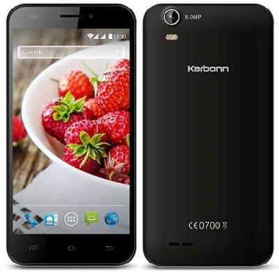 Karbonn Titanium S200HD (8 GB, Black+Silver)