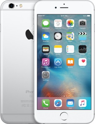 Apple iPhone 6S Plus (Silver, 64 GB)