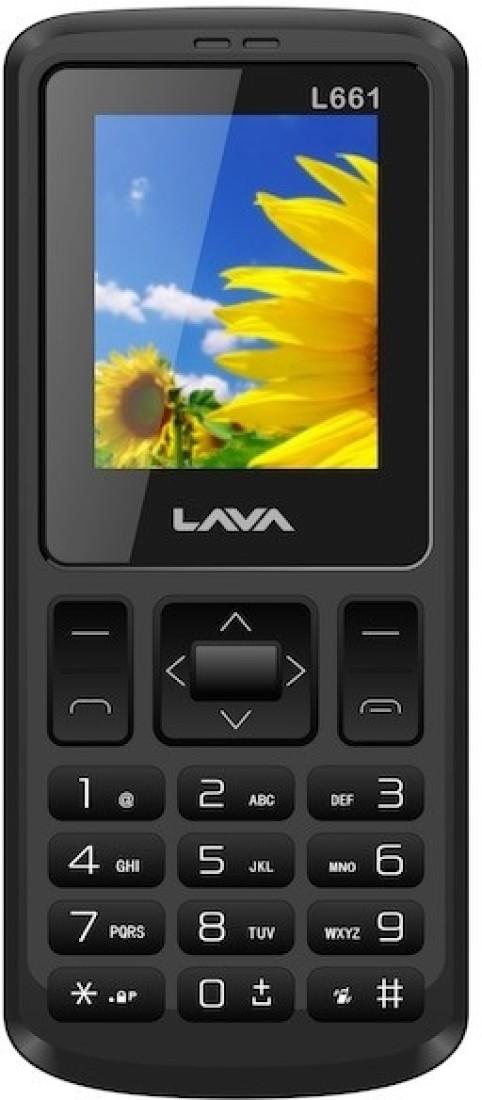 Lava L 661 CDMA (Black)