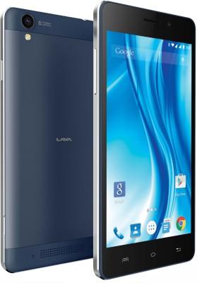 Lava X3 (Black & Blue, 8 GB)