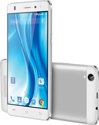 Lava X3 (White & Silver, 8 GB)