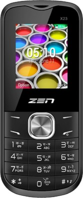 Zen X23 1800 Mah Battery (Black & Red)